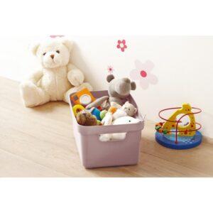 Opbergbox roze 5l
